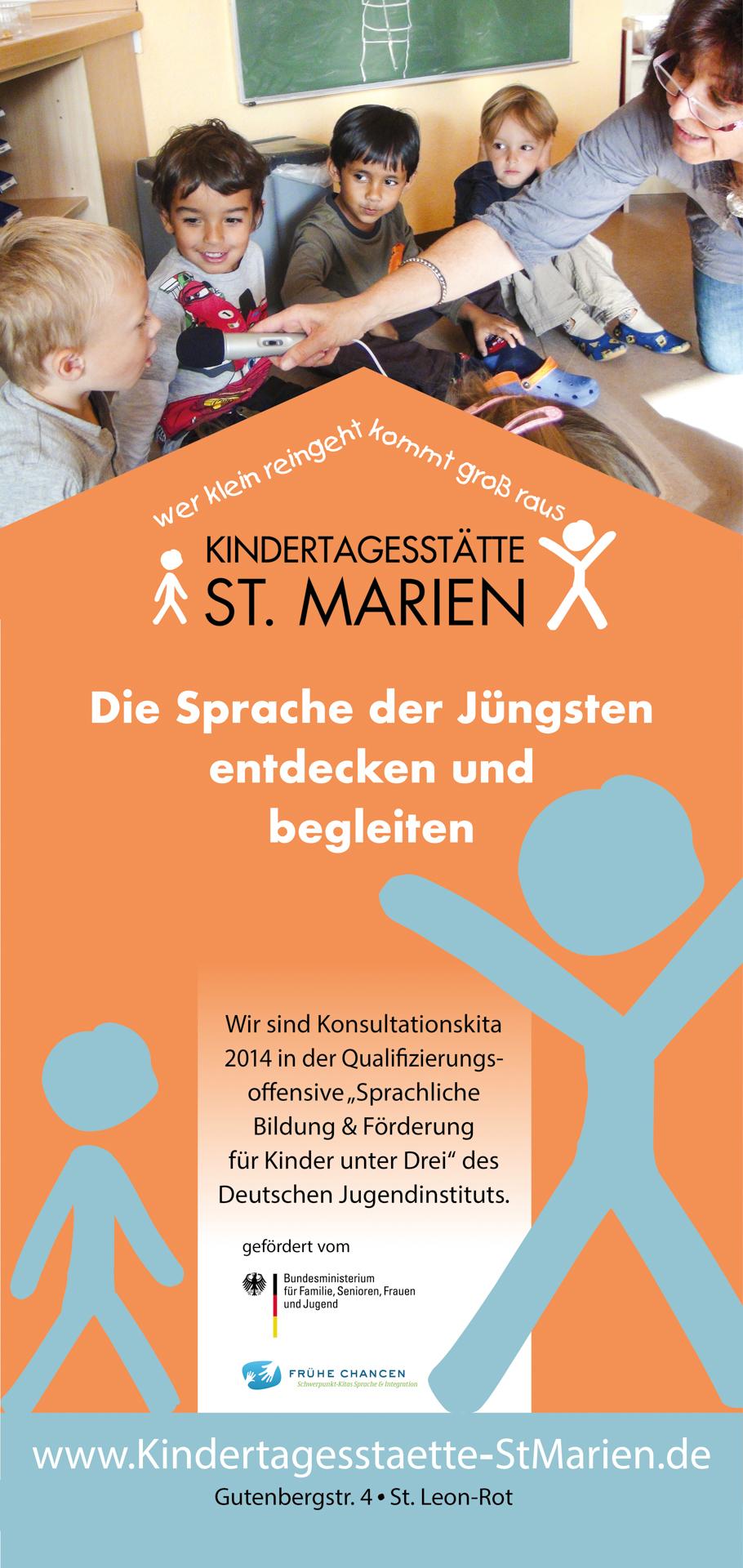 Sprache im Kindergarten St. Marien